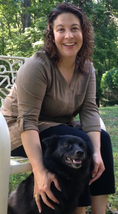 Dr. Jackie Soule with her dog, Lizzie